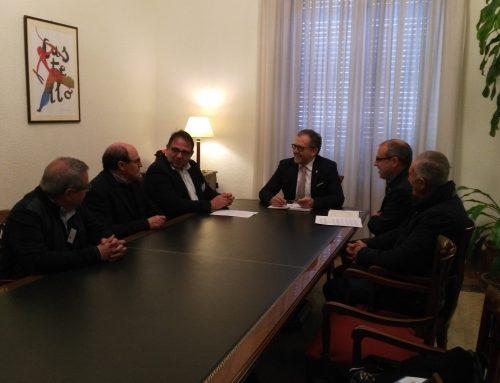 Reunión de FEDETCAS con la Diputación de Castellón
